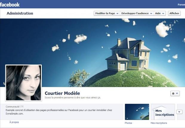 Une application Facebook pour les courtiers en immobilier
