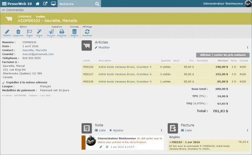 Syst me de gestion des commandes dans le cloud for Statut de commande ikea