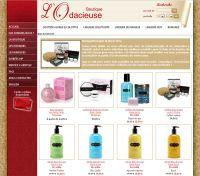 Catalogue de produits en ligne avec panier d'achats