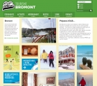 Int�gration de design web pour tourismebromont.com