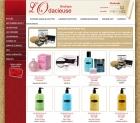 Cr�ation du design web de boutiquelodacieuse.com