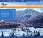 Intégration de design web pour skibromont.com
